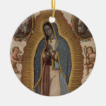 OUR LADY OF GUADALUPE PRAY FOR US CHRISTMAS TREE ORNAMENTS