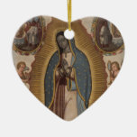 OUR LADY OF GUADALUPE PRAY FOR US CHRISTMAS ORNAMENTS