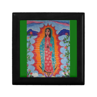 Our Lady of Guadalupe Small Square Gift Box