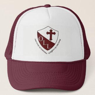 Our Lady of Lourdes School Trucker Hat Maroon