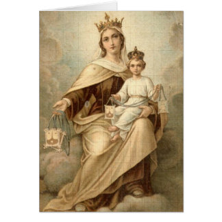Our Lady of Mount Carmel Card