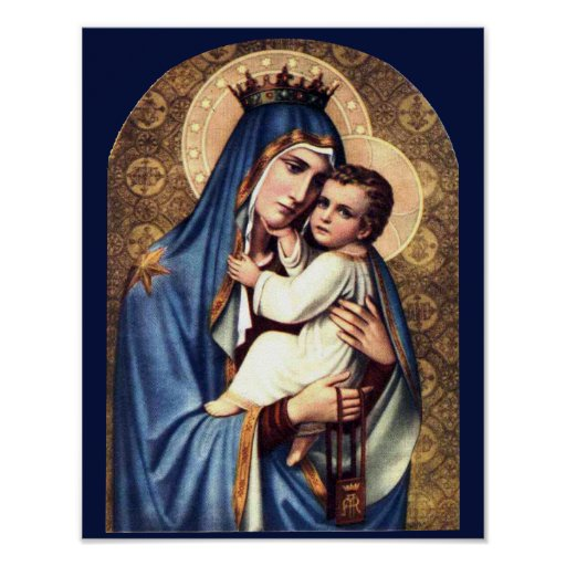 OUR LADY OF MOUNT CARMEL POSTER