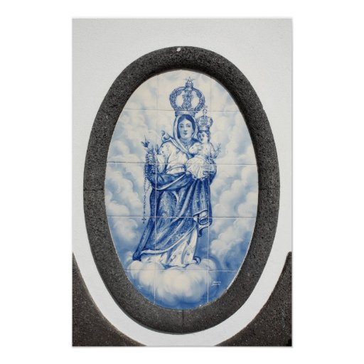 Our Lady of Peace Poster