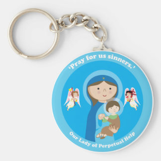 Our Lady of Perpetual Help Key Ring