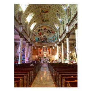 Our Lady of Pompeii Church Postcard