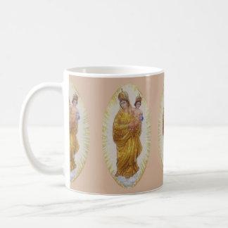 Our Lady Of Prompt Succor Basic White Mug