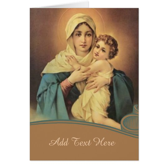 Our Lady of Schoenstatt Virgin Mary Jesus MOTHER Card