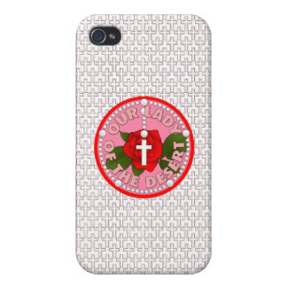 Our Lady of the Desert iPhone 4/4S Case
