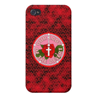 Our Lady of the Desert iPhone 4 Cases
