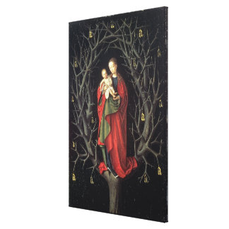 Our Lady of the Dry Tree c.1450 (oil on panel) Gallery Wrap Canvas