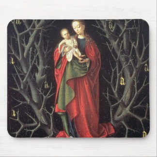 Our Lady of the Dry Tree c.1450 (oil on panel) Mouse Pad