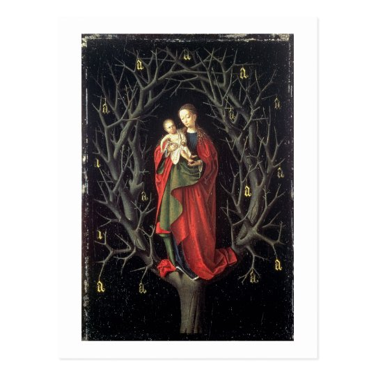 Our Lady of the Dry Tree c.1450 (oil
