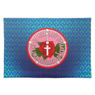Our Lady of the Immaculate Conception Placemat