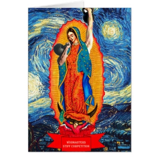 Our Lady of the KettleBells Card