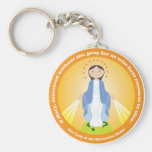 Our Lady of the Miraculous Medal Keychains