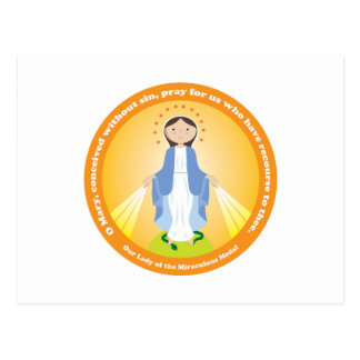 Our Lady of the Miraculous Medal Postcard