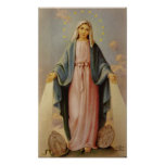 Our Lady of the Rosary Blessed Mother Virgin Mary Print