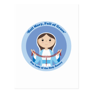 Our Lady of the Rosary Postcard