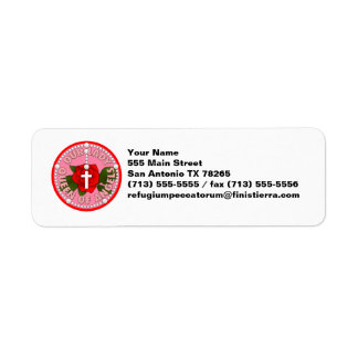 Our Lady Queen of Angels Return Address Label