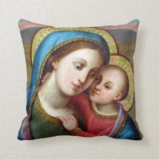 OUR LADY REFUGE OF SINNERS THROW PILLOW