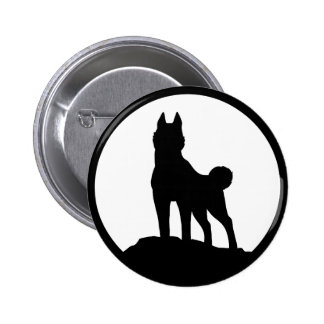 Our Leader 6 Cm Round Badge