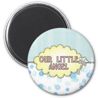 Our Little Angel 3 6 Cm Round Magnet