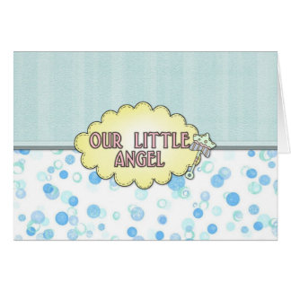 Our Little Angel 3 Greeting Card