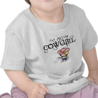 Our Little Cowgirl T-Shirt For Infants
