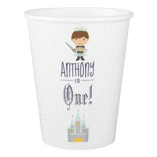 Our Little Prince Birthday Party Paper Cup