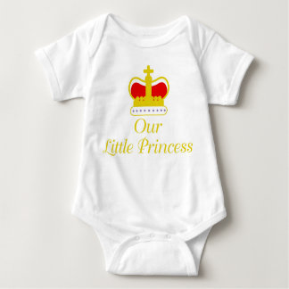 Our Little Princess Baby Bodysuit