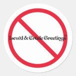 Our Logo. Round Sticker