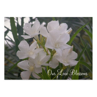 Our Love Blossoms Save The Date Mini Cards Business Card Template