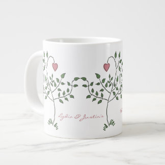 Our Love is Deeply Rooted Large Coffee Mug