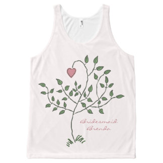 Our Love is Deeply Rooted Wedding All-Over Print Tank Top