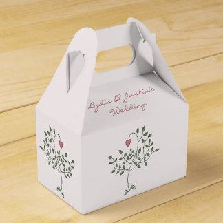 Our Love is Deeply Rooted Wedding Favour Boxes