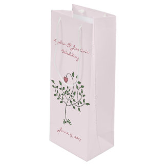 Our Love is Deeply Rooted Wine Gift Bag