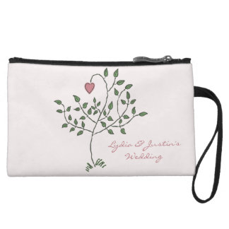 Our Love is Deeply Rooted Wristlet Clutch