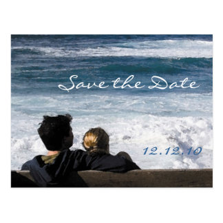 Our Love - Save the Date Card Postcard