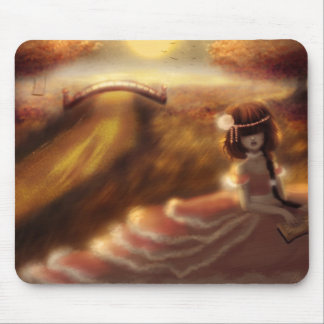 Our made poem was of sunset mouse pad