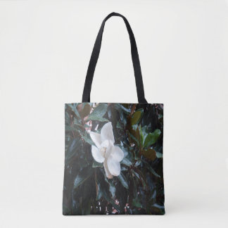 """Our Marigold Tree After the Rain"" Custom Tote"