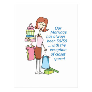 OUR MARRIAGE POSTCARD