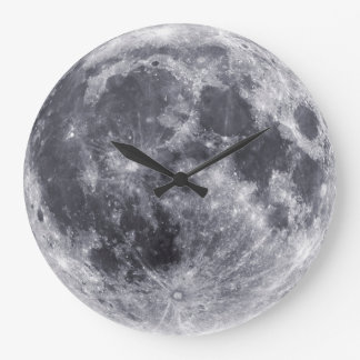 Our Moon Large Clock