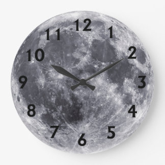 Our Moon Wallclock