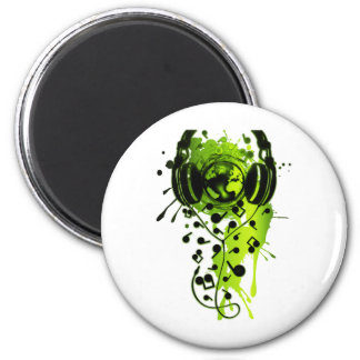 Our_Music 6 Cm Round Magnet