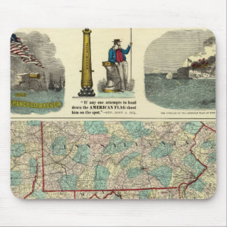 Our Nation's Camp Ground Mouse Mat