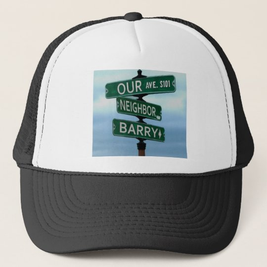 Our Neighbour Barry Trucker Hat