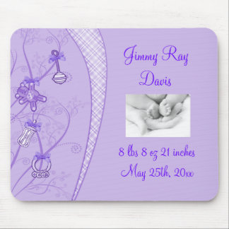 Our New Addition In Purple Hues Mouse Pad