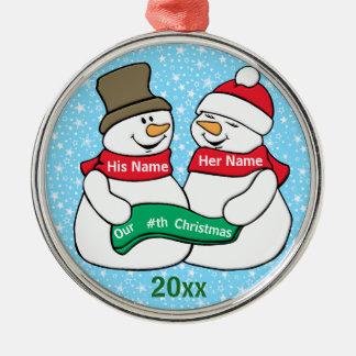 Our Nth Christmas Christmas Ornament