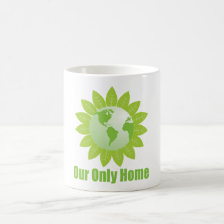 Our Only Home Basic White Mug