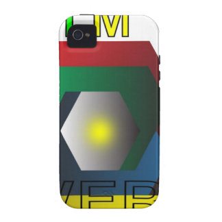 Our Powerful Design Vibe iPhone 4 Cover